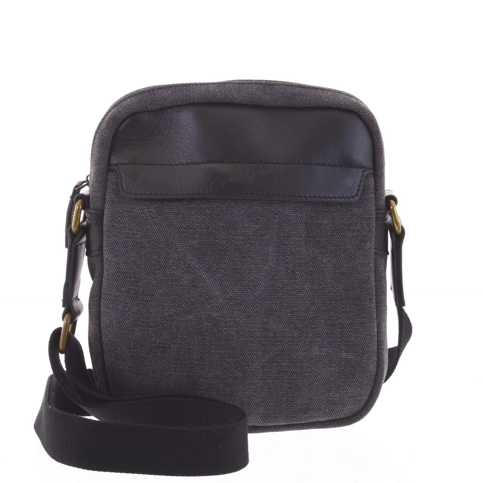 Štýlová pánska taška na doklady čierna - Gerard Henon Vidal