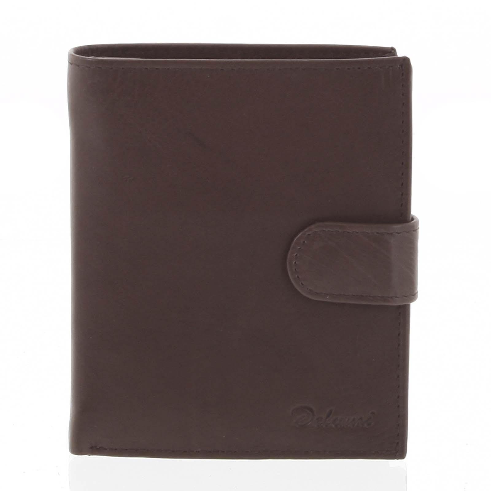 Kožená peňaženka hnedá - Delami 11163