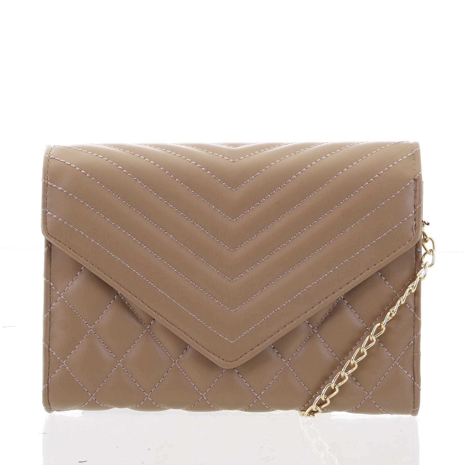 Originálna dámska prešívaná khaki listová kabelka - Delami Agnella ... bbc3d82bfe2