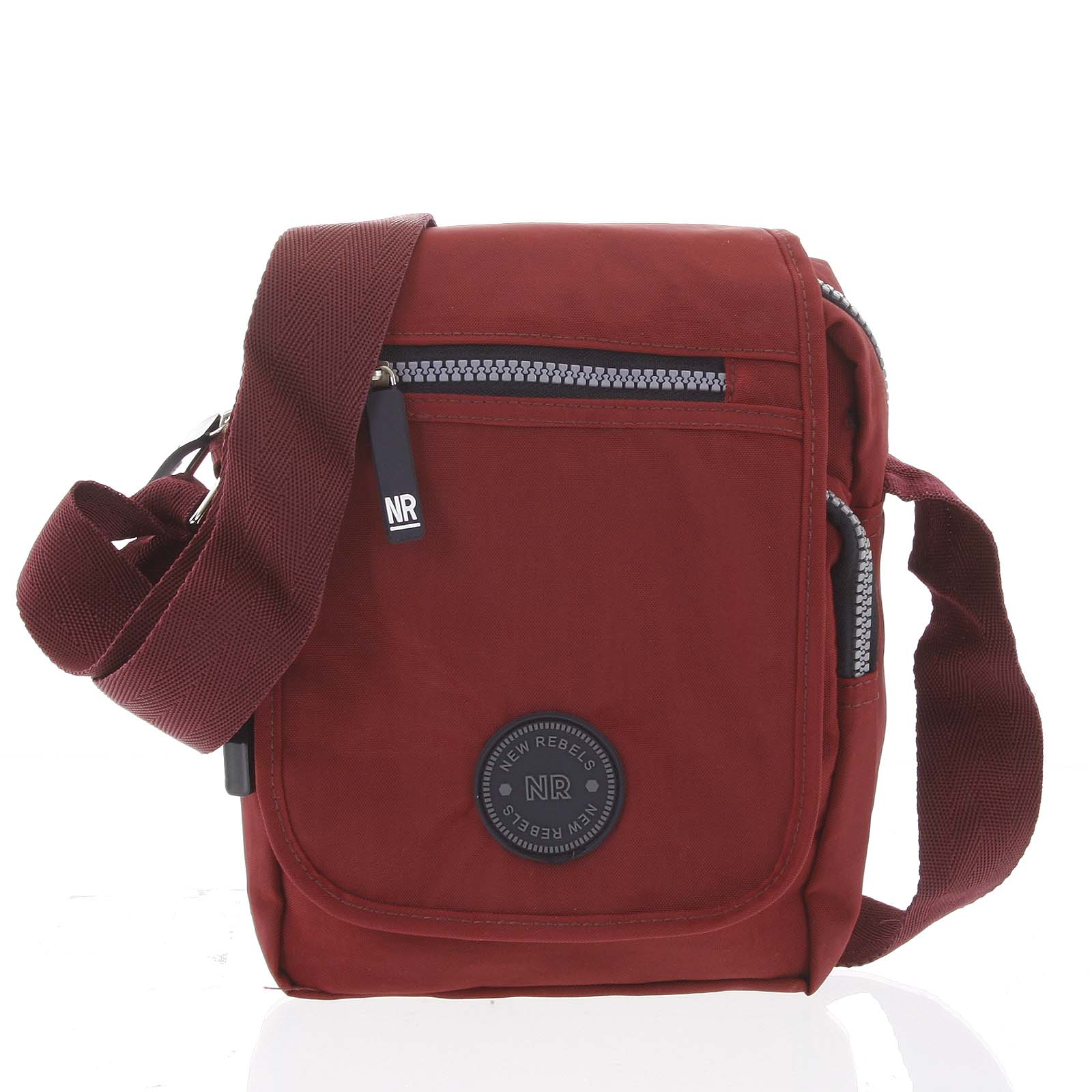 Malá športová taška na doklady červená - New Rebels Jacob