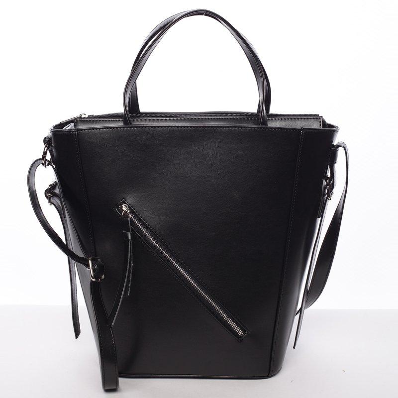 Moderná dámska kabelka do ruky čierna - Delami Maryam