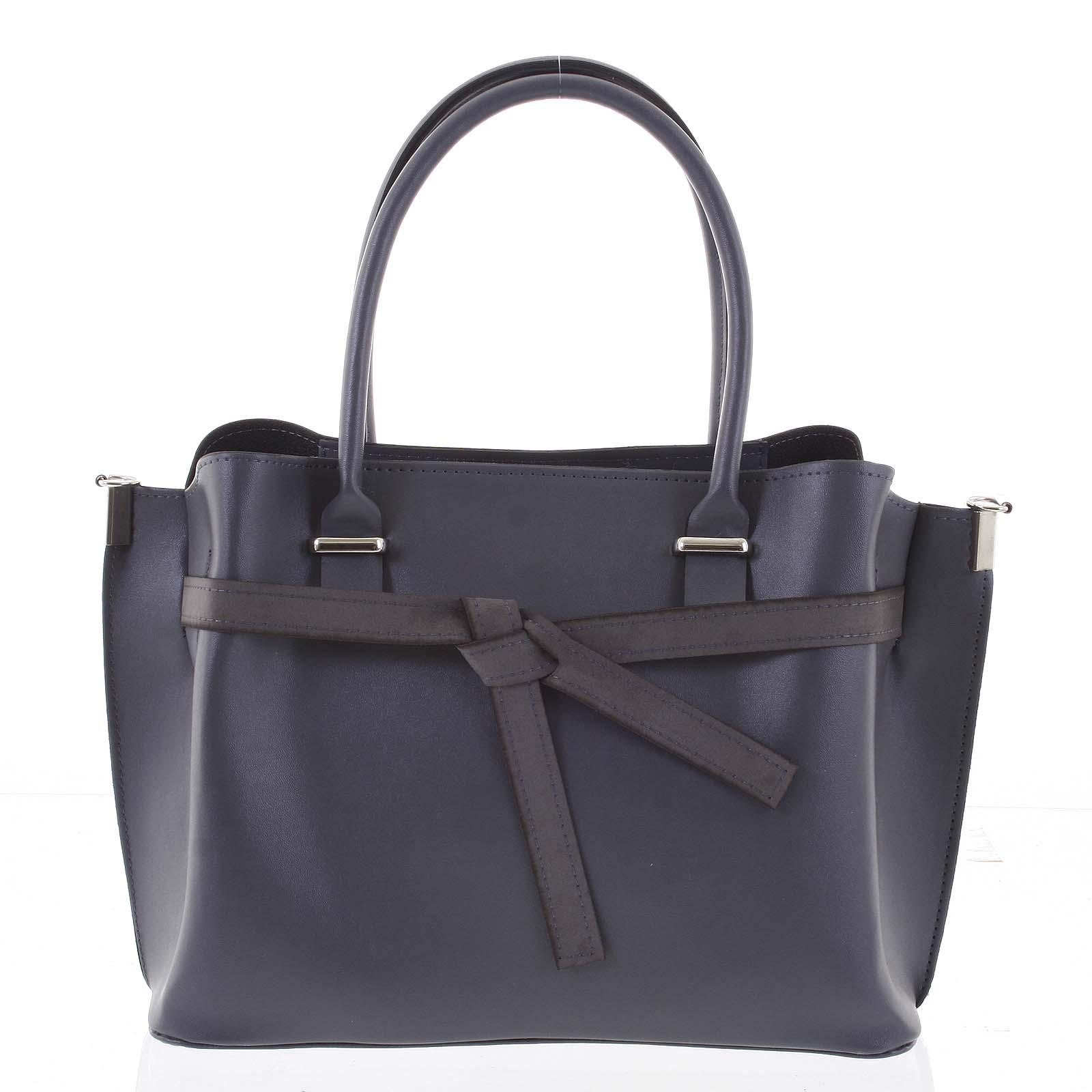 Trendy dámska kabelka do ruky sivá - Delami Giovanna