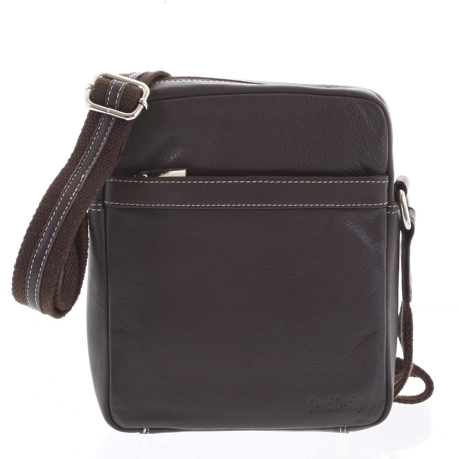 Luxusná kožená taška IG711