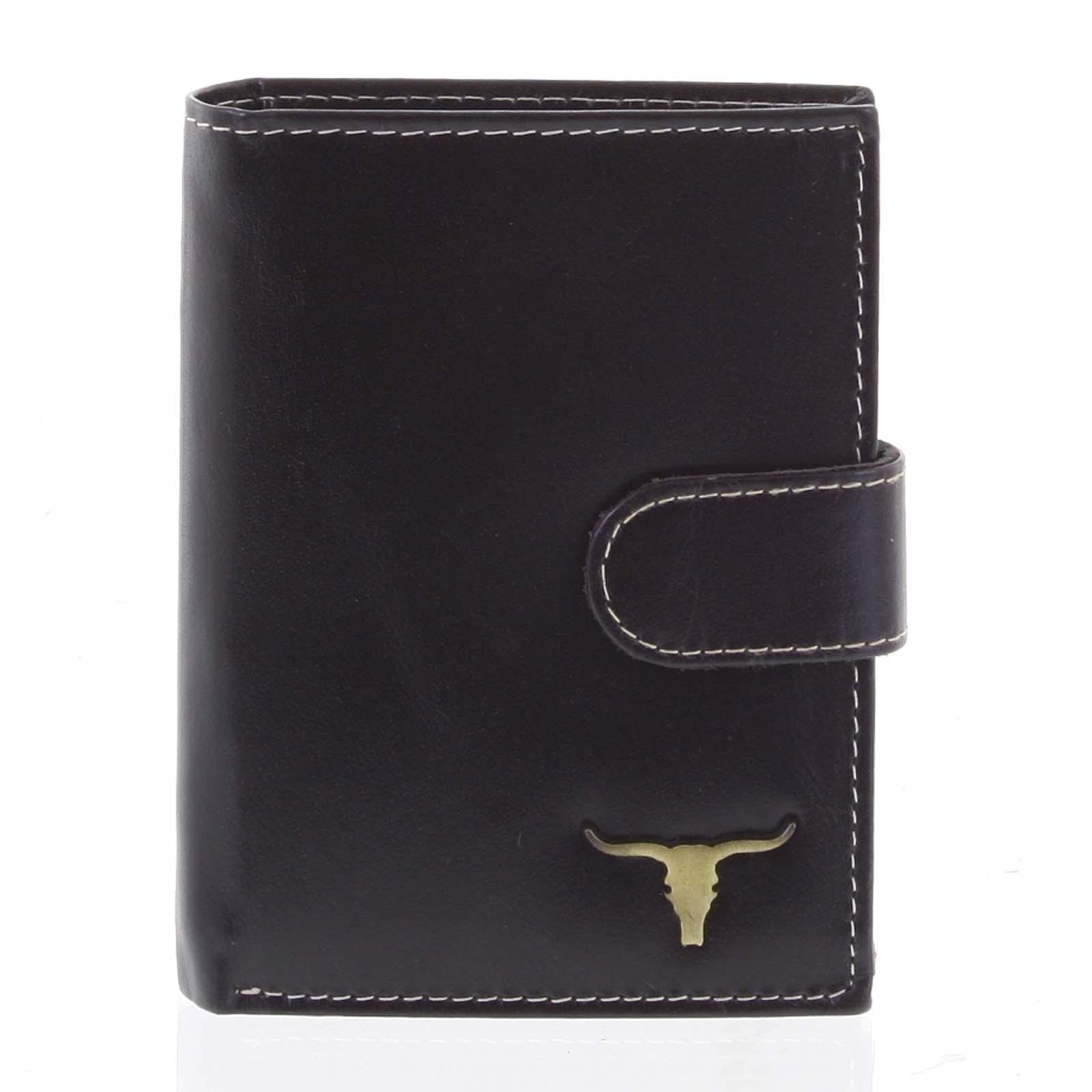 Pánska kožená peňaženka čierna - BUFFALO Elliott