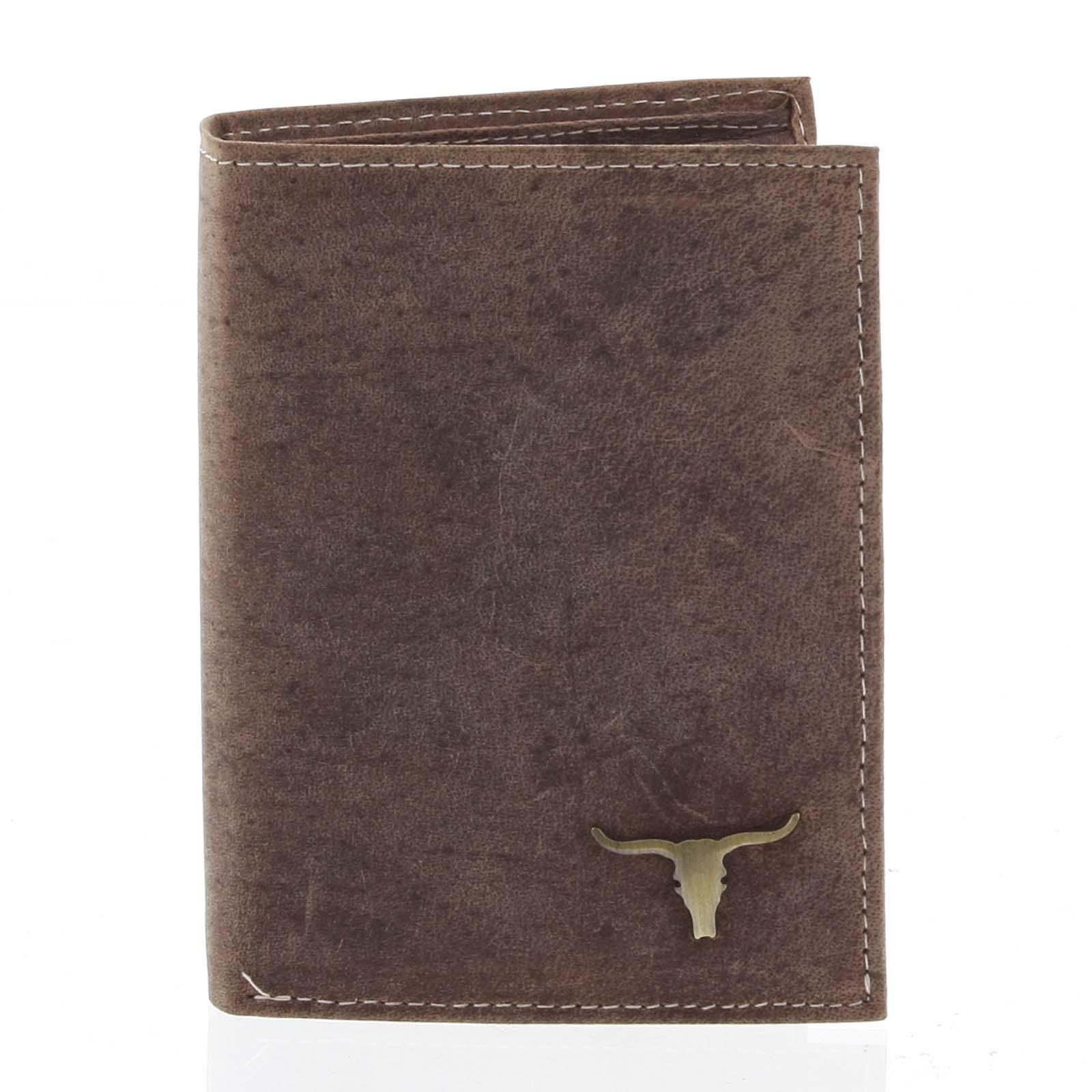 Pánska kožená peňaženka camel - BUFFALO Dura