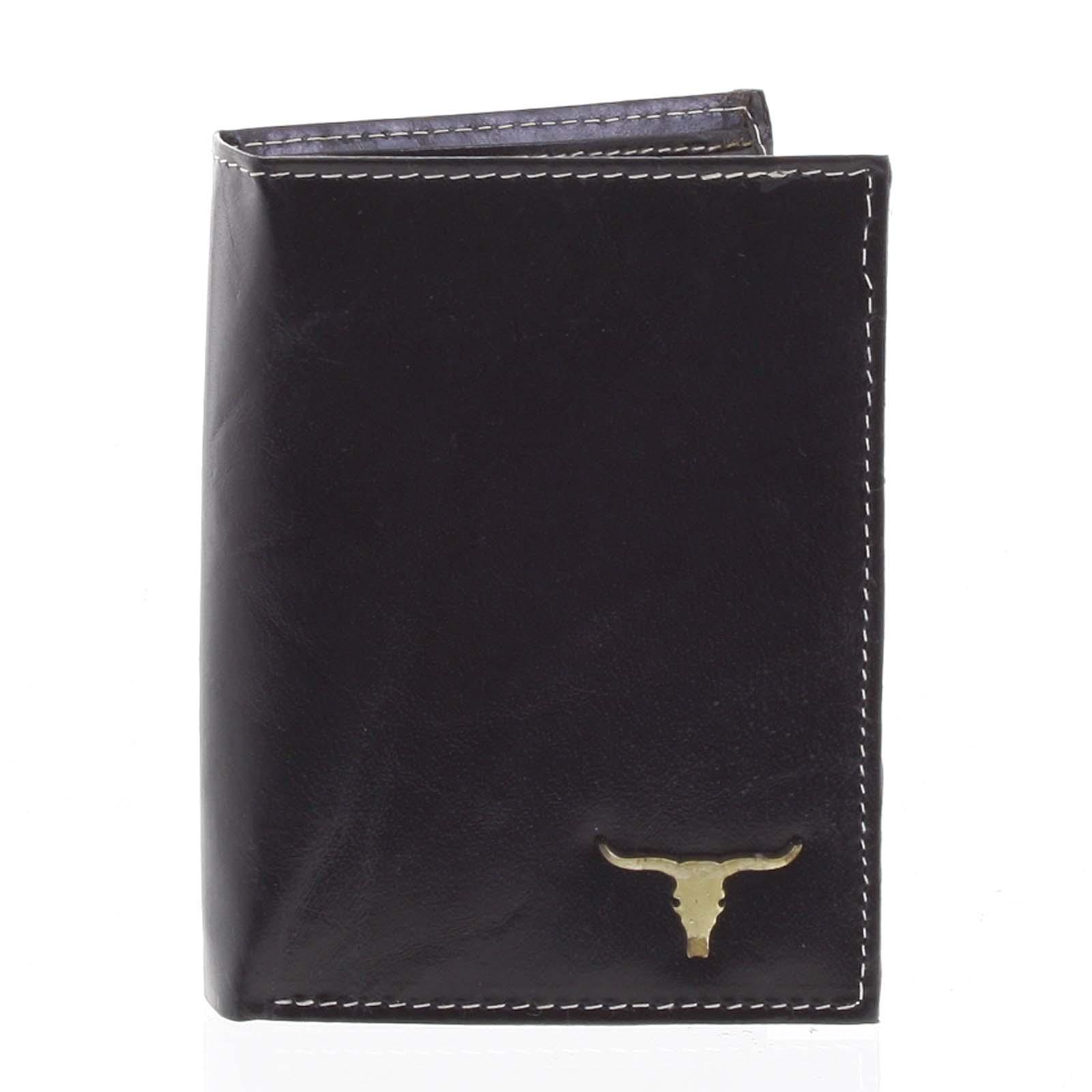 Pánska kožená peňaženka čierna - BUFFALO Dura