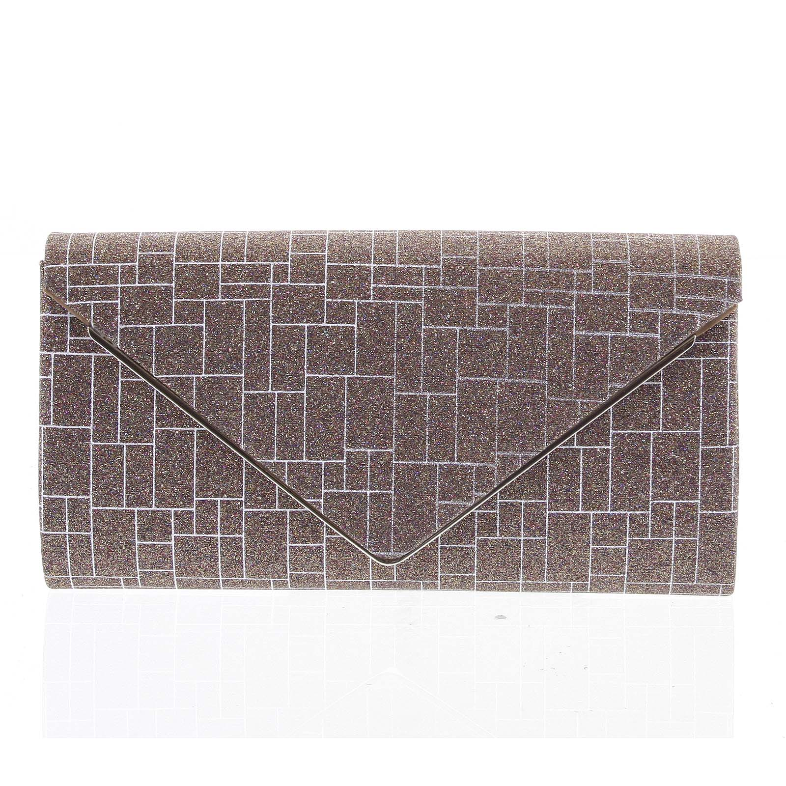 Elegantná dámska listová kabelka hnedá - Michelle Moon HightWay