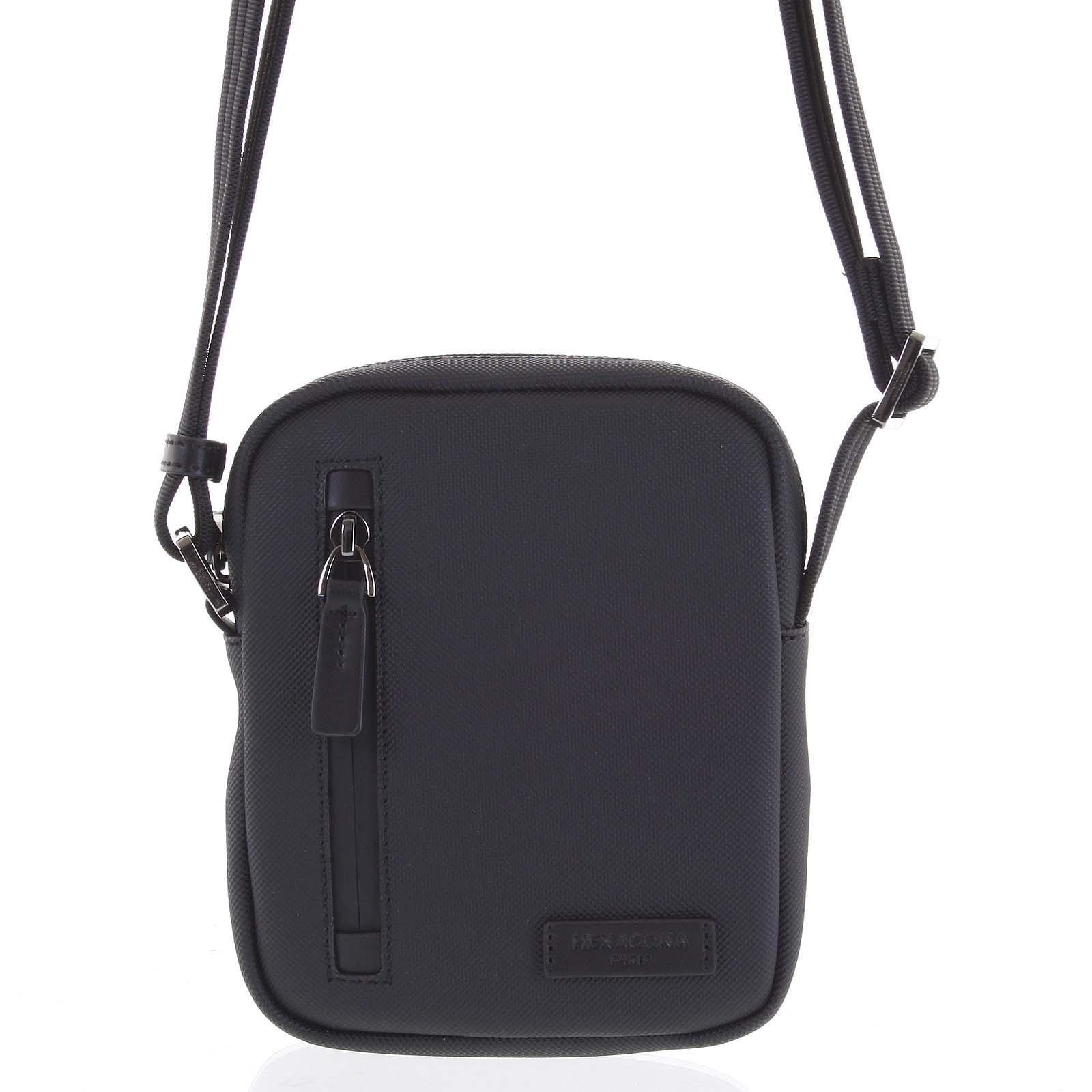 Pánska taška na doklady čierna - Hexagona Adilson