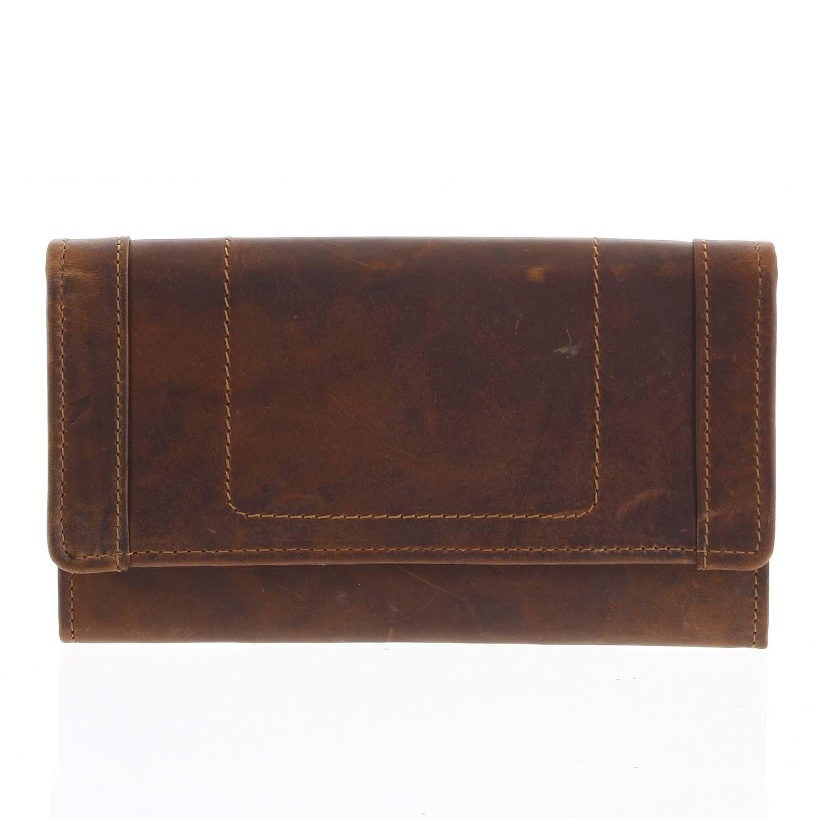 Kožená peňaženka hnedá - Tomas Mayana