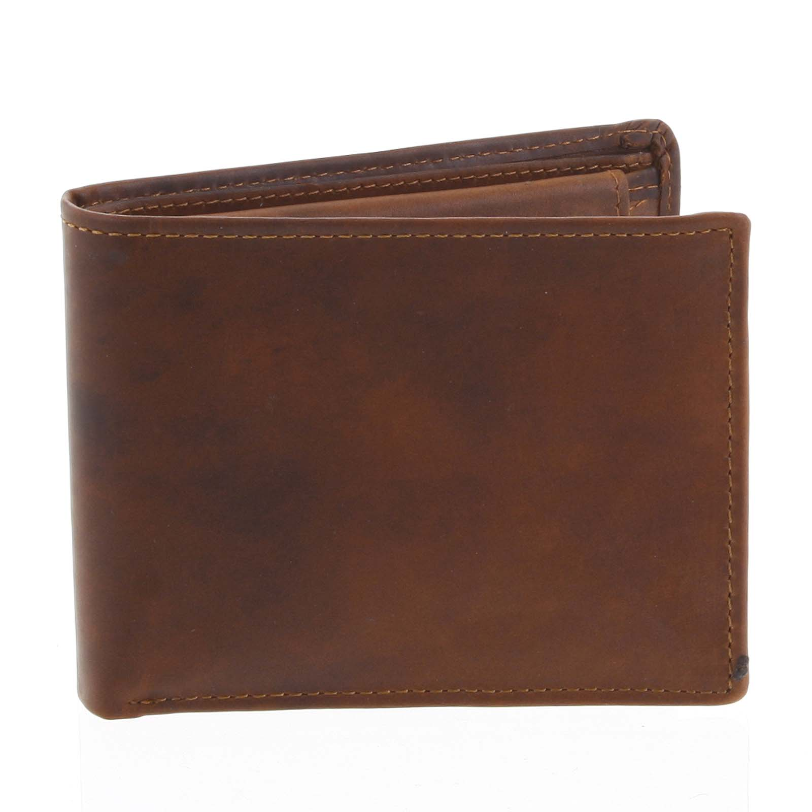 Pánska kožená peňaženka hnedá - Tomas Bushel