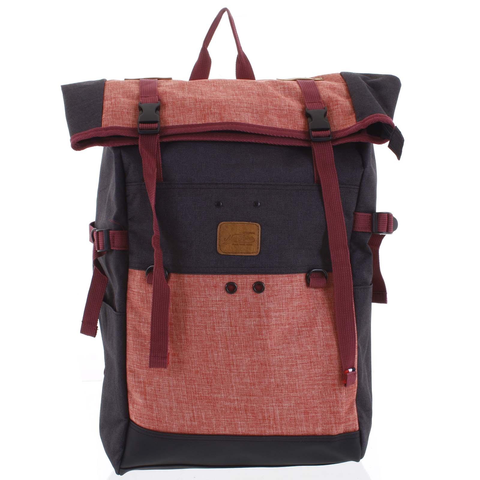 Kombinovaný cestovný batoh čierno ružový - New Rebels Messer