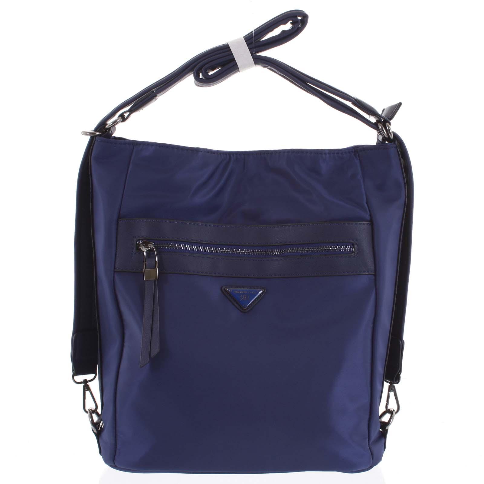 Dámska kabelka batoh modrá - Delami Triana