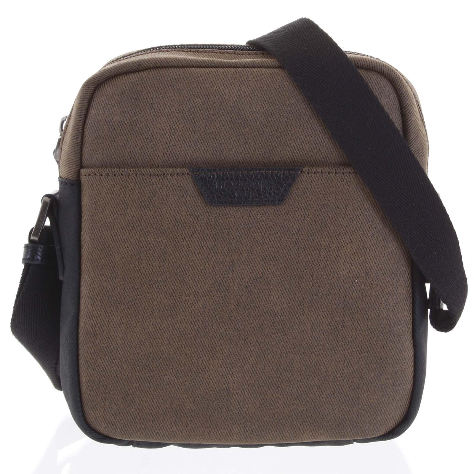 Pánska taška cez plece hnedá - Hexagona Clark