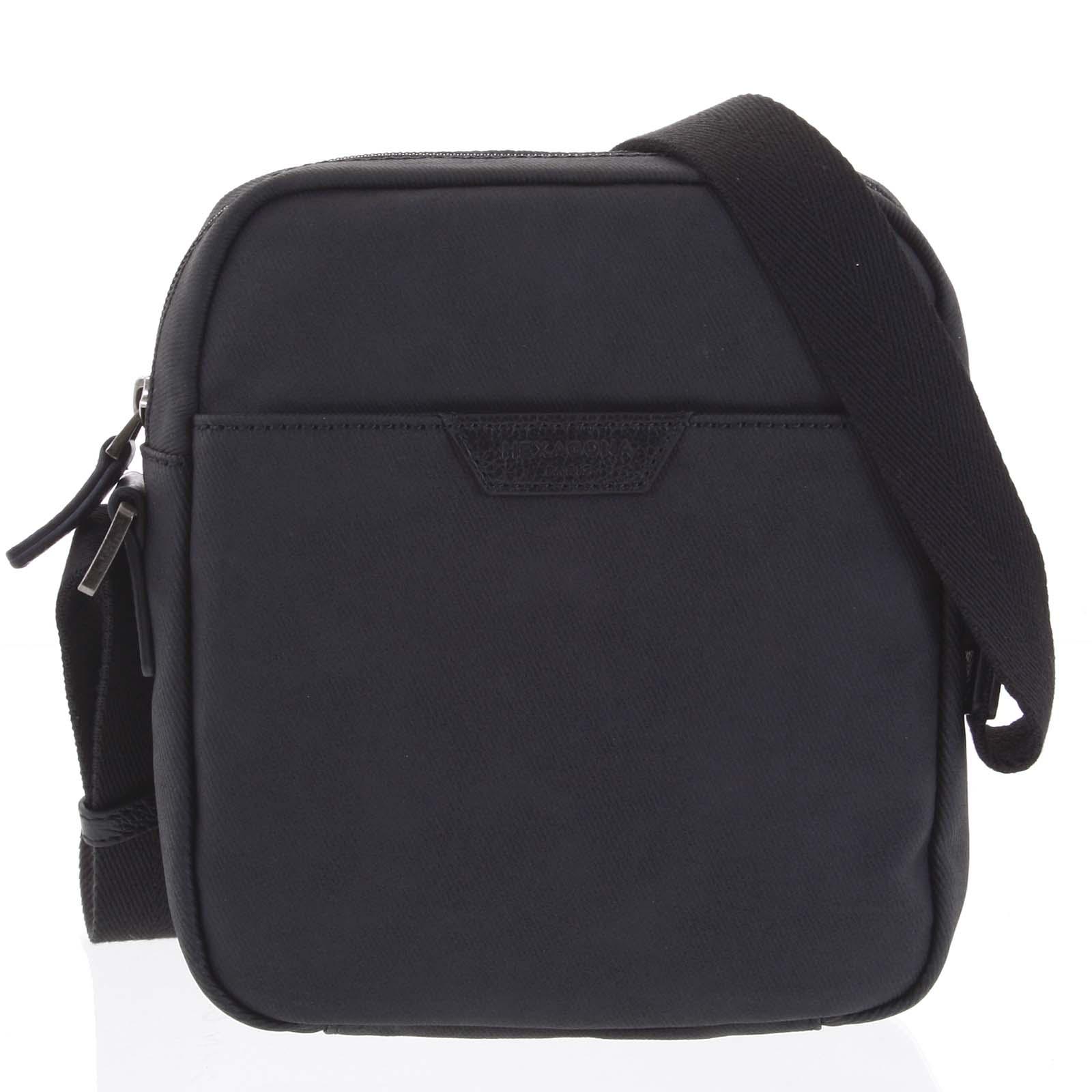 Pánska taška cez plece čierna - Hexagona Clark