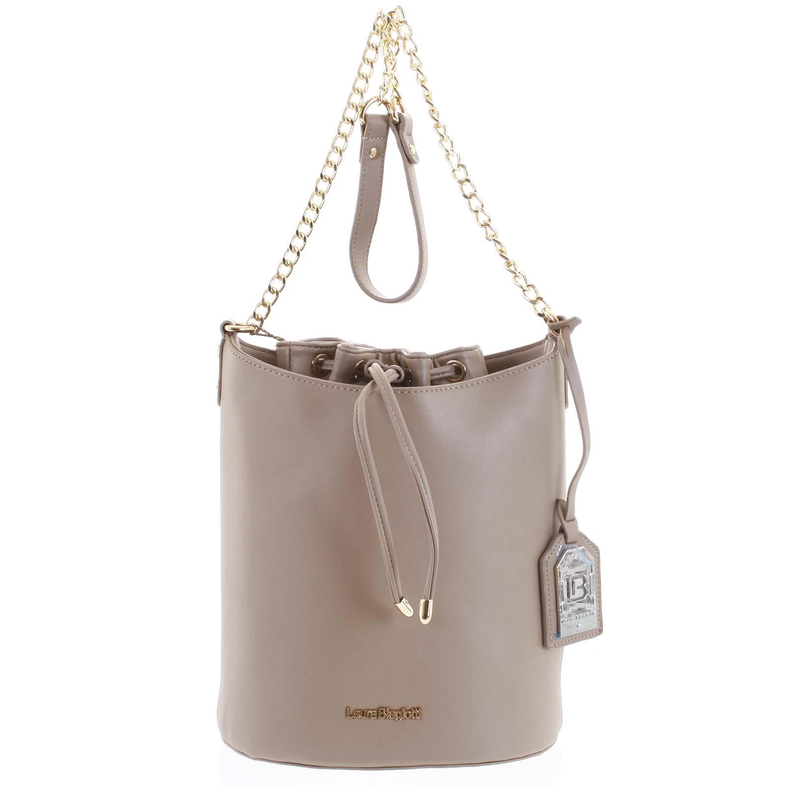 Dámska kabelka cez plece camel - Laura Biagiotti Vivienne