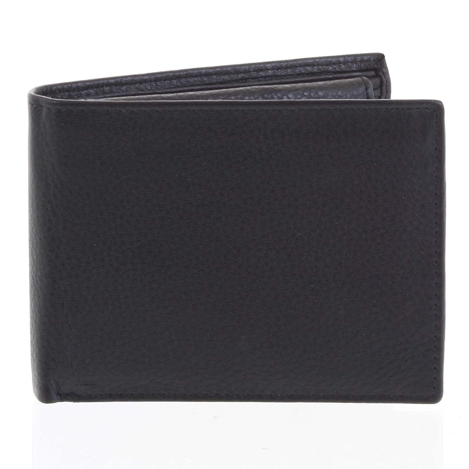 Pánska kožená peňaženka čierna - Tomas Bushel