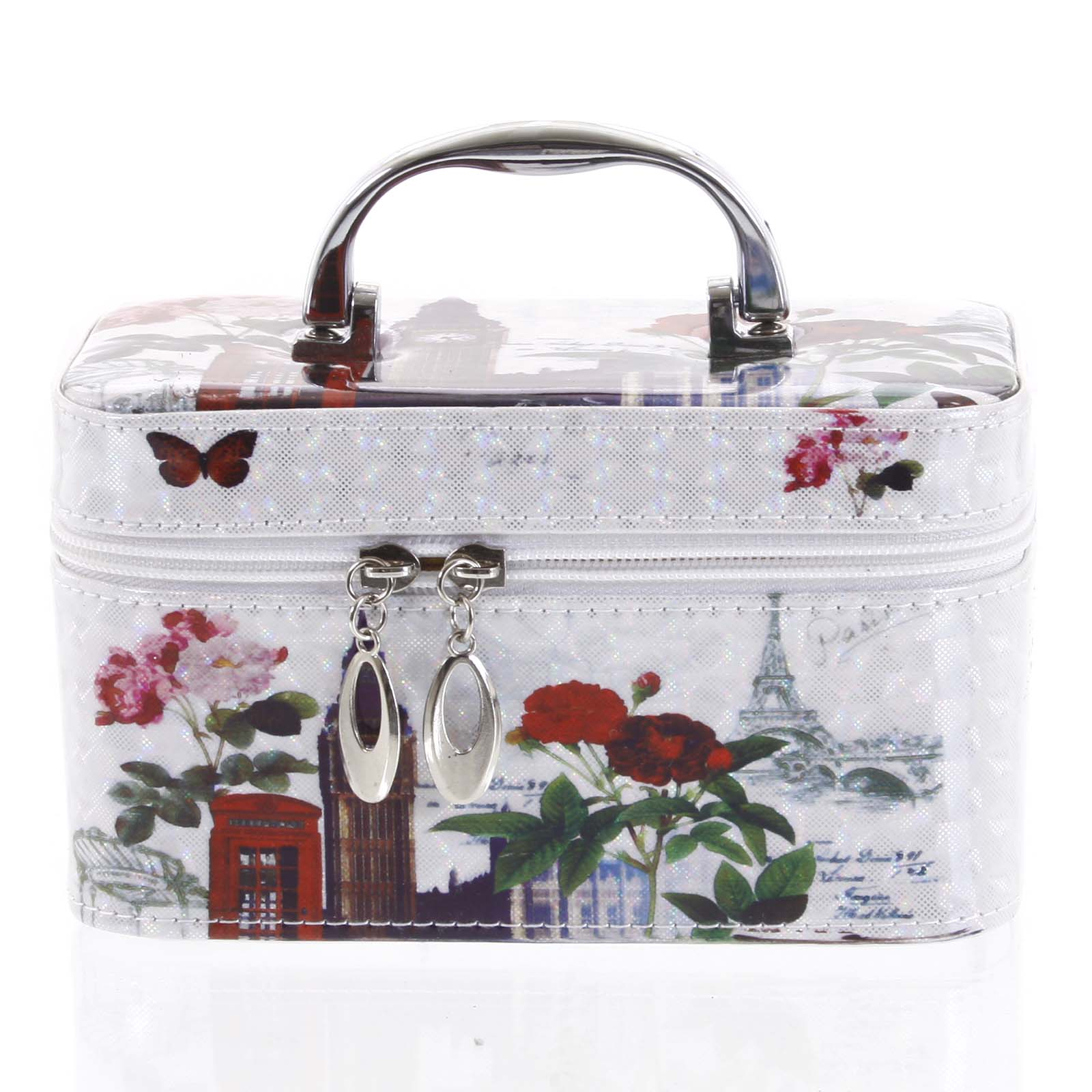 Dámsky kozmetický kufrík biely - Yoody B S