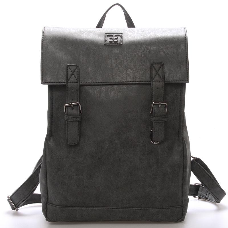 Módny štýlový batoh čierny - Enrico Benetti Travers