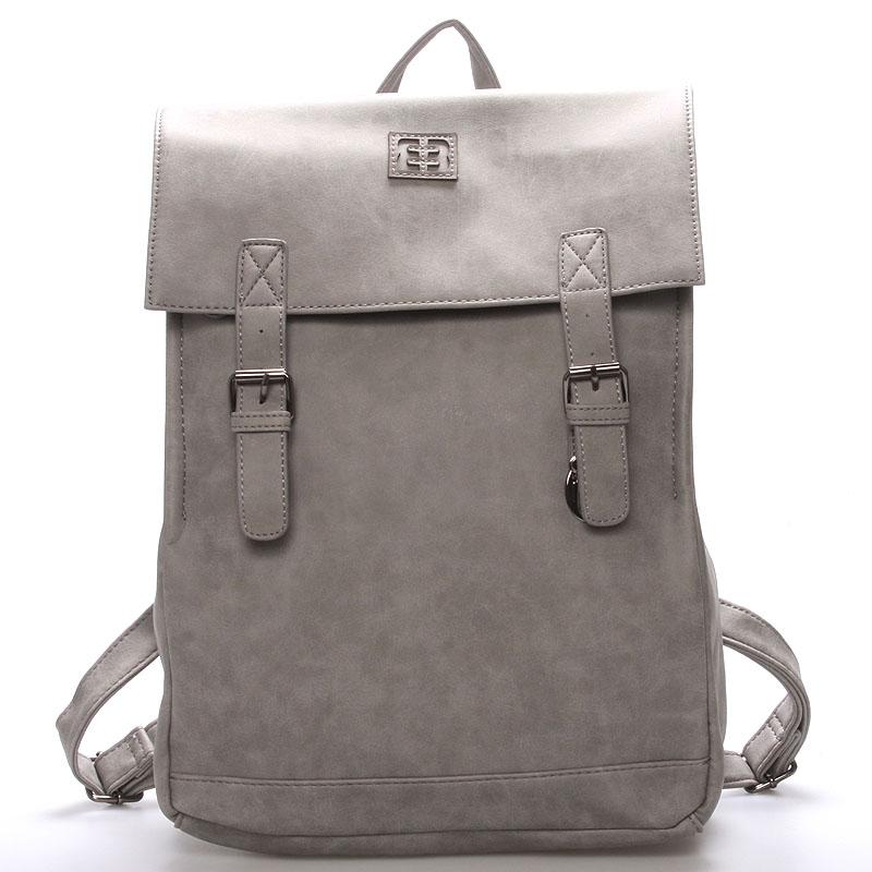 Módny štýlový batoh sivý - Enrico Benetti Travers