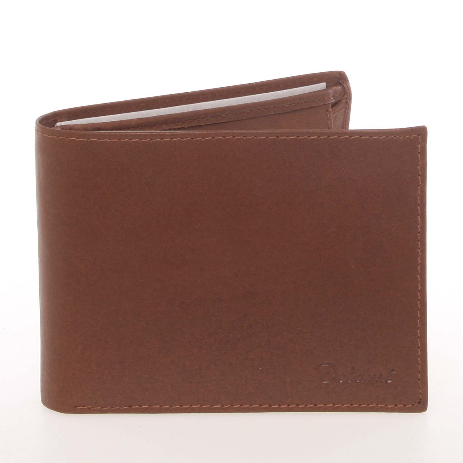 Pánska kožená koňaková peňaženka - Delami Colbey