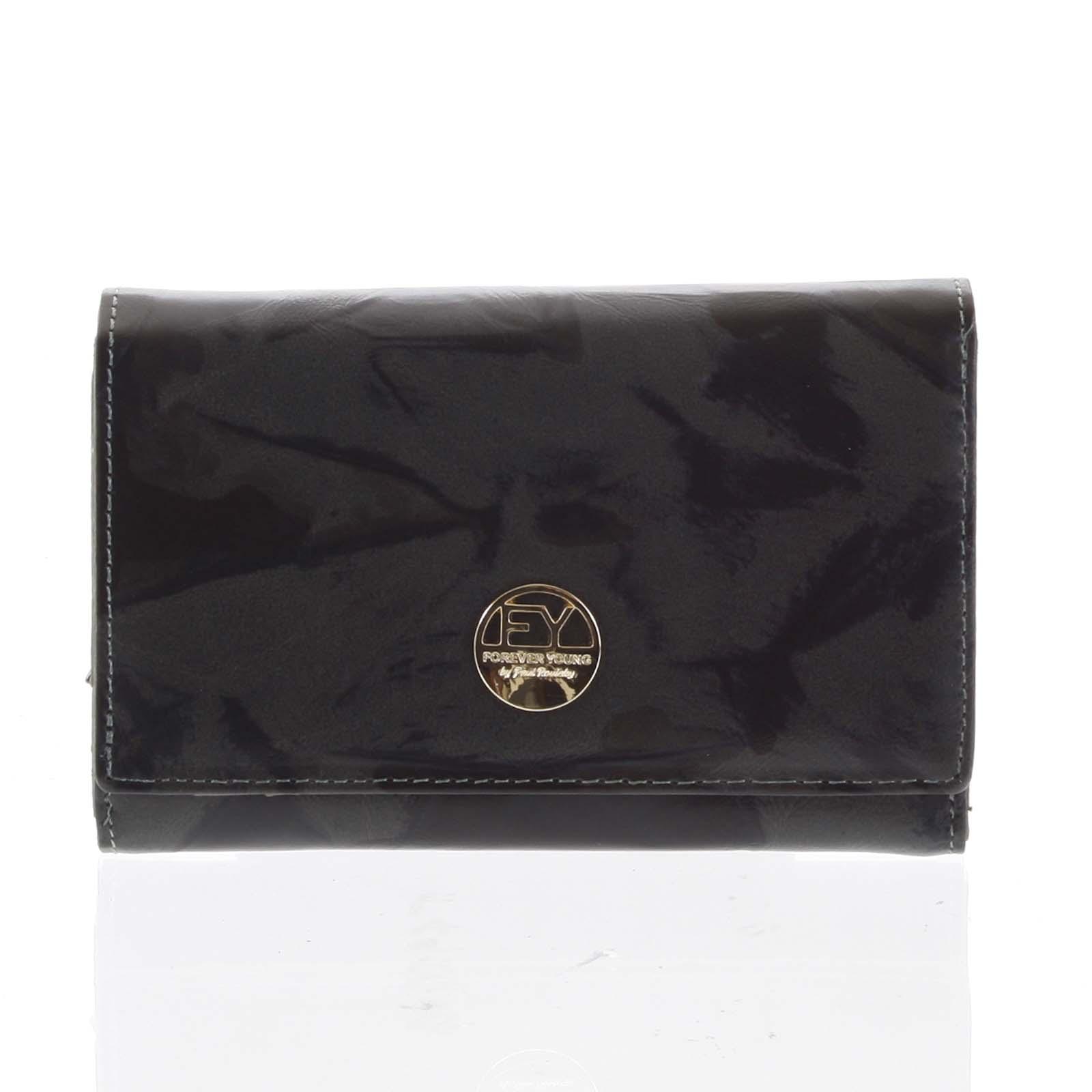 Dámska peňaženka kožená olivová - Rovicky 76112