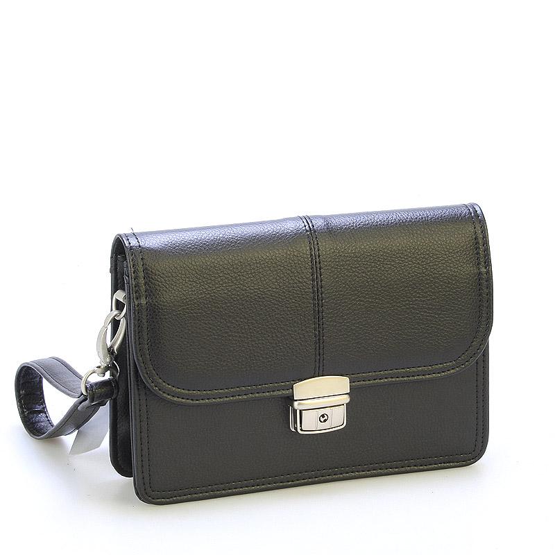 Elegantné pánske čierne etue - SendiDesign 2101