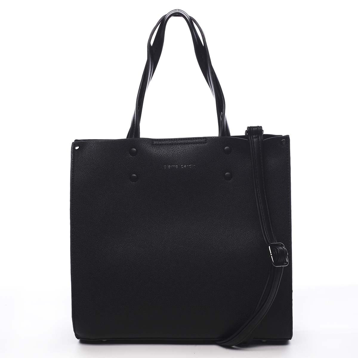 Dámska kabelka čierna - Pierre Cardin Dished