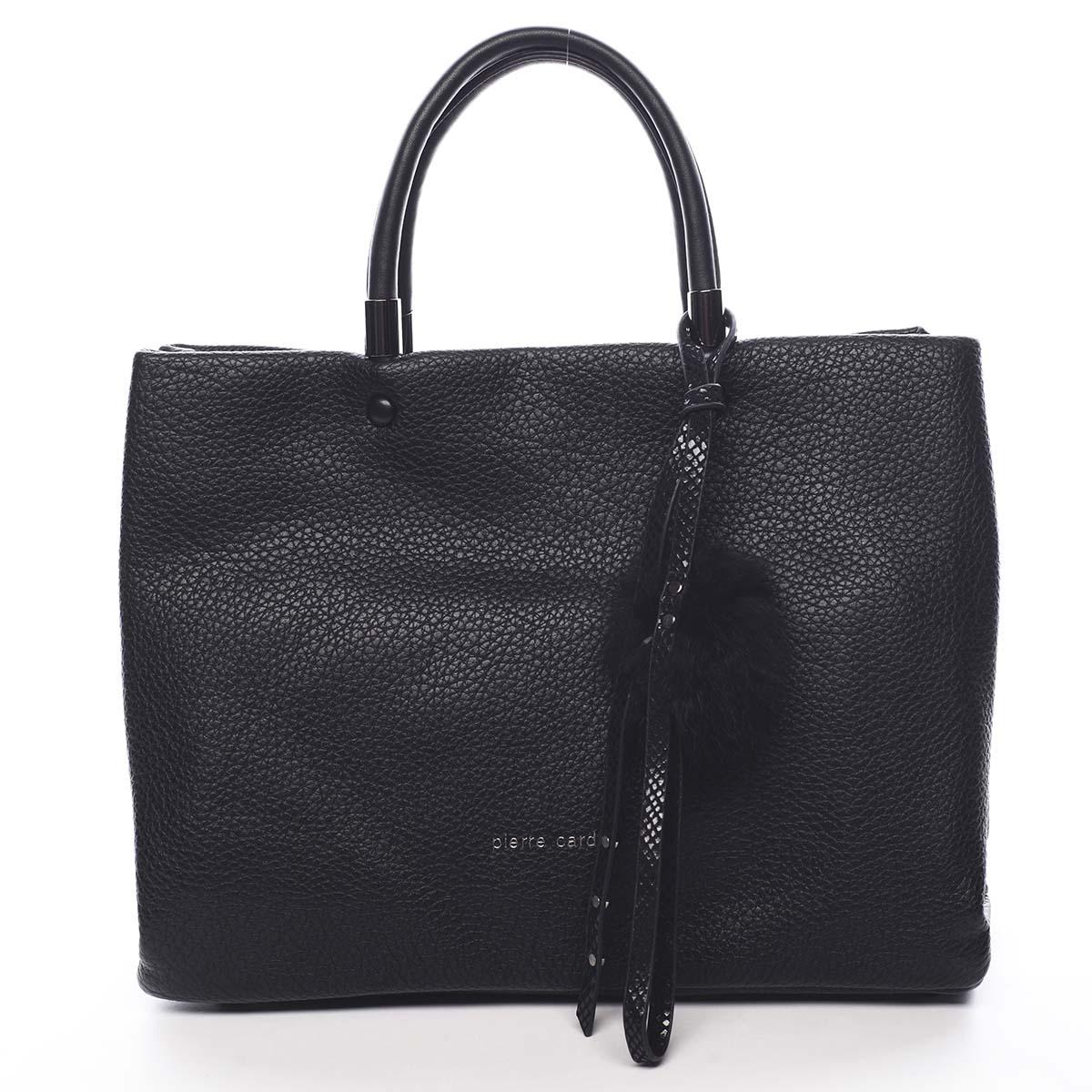 Dámska kabelka do ruky čierna - Pierre Cardin Krimea