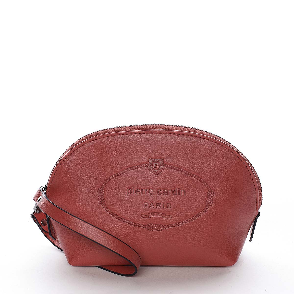 Dámska listová kabelka červená - Pierre Cardin Balbina