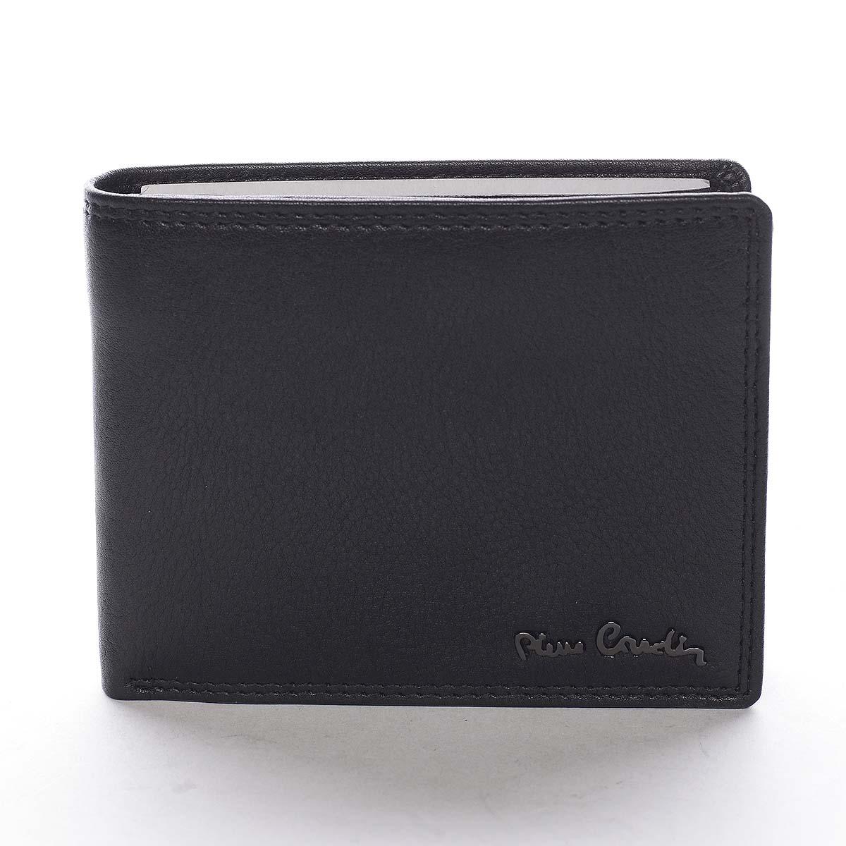 Pánska kožená peňaženka čierna - Pierre Cardin Wame