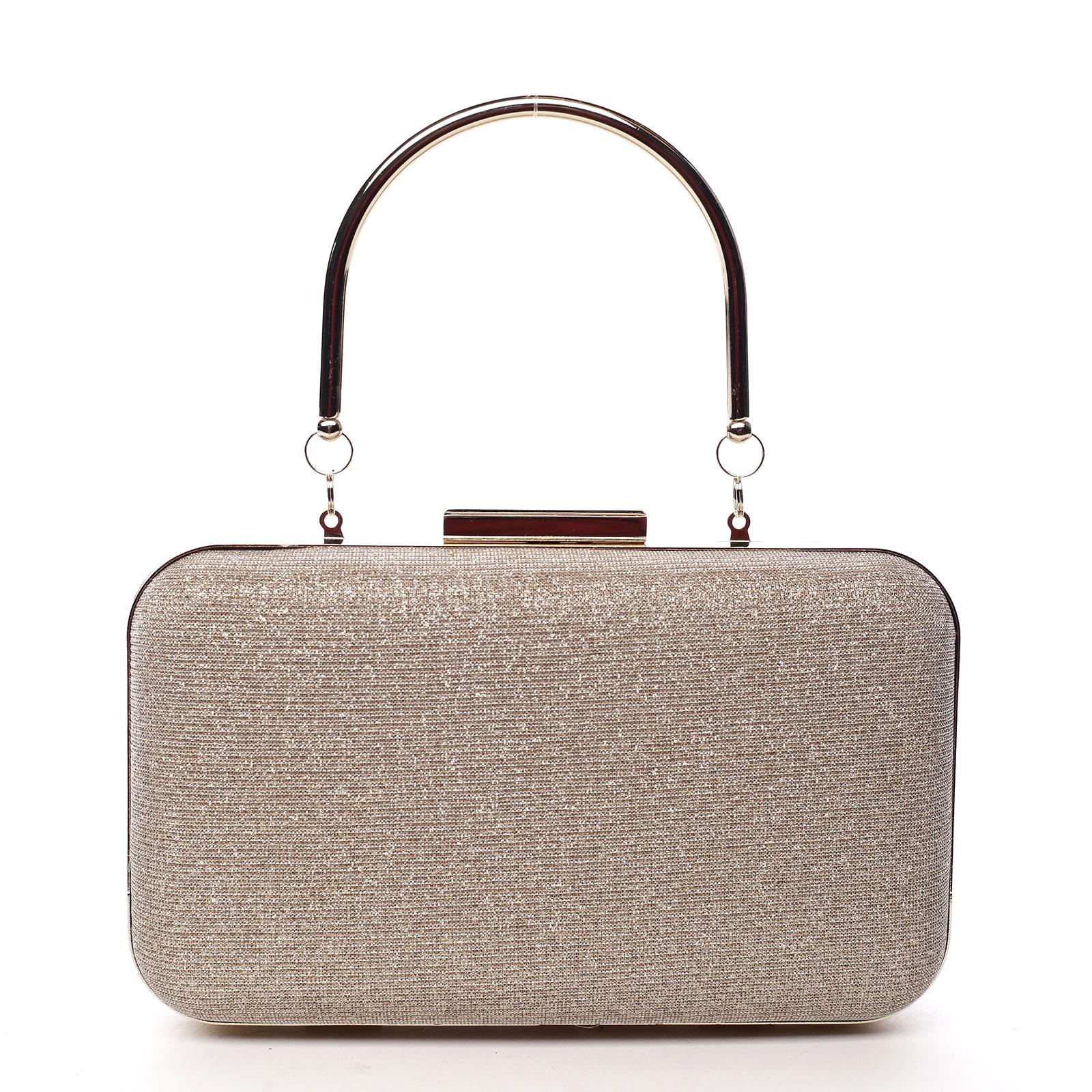 Dámska listová kabelka zlatá - Michelle Moon S101