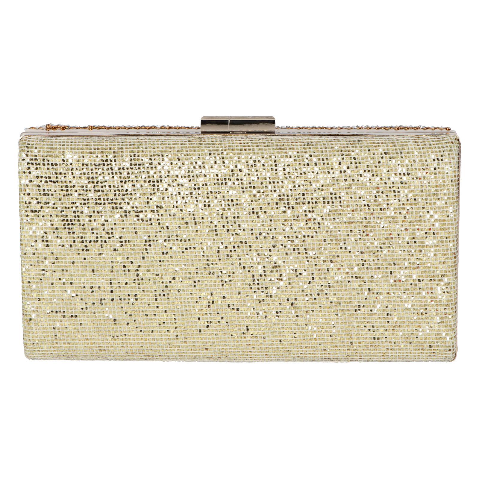 Luxusná damska listová kabelka zlatá - Michelle Moon V840