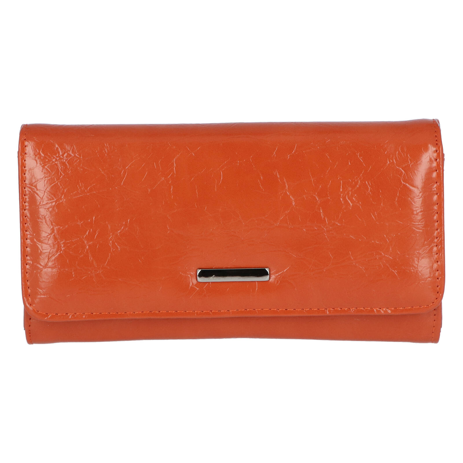 Dámska listová kabelka do ruky oranžová - Michelle Moon F290