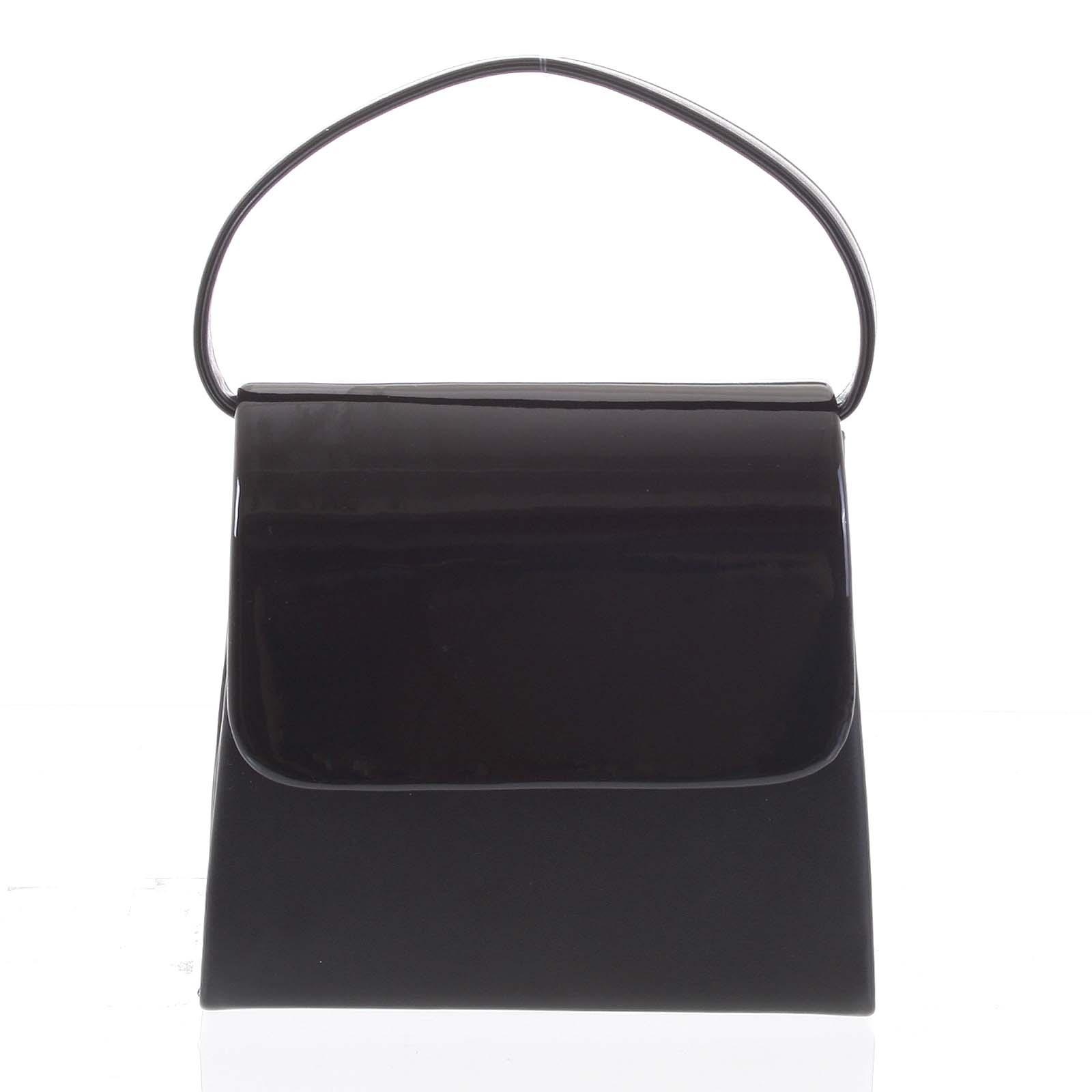 Luxusná dámska listová kabelka/kabelka čierna - Delami Viseria