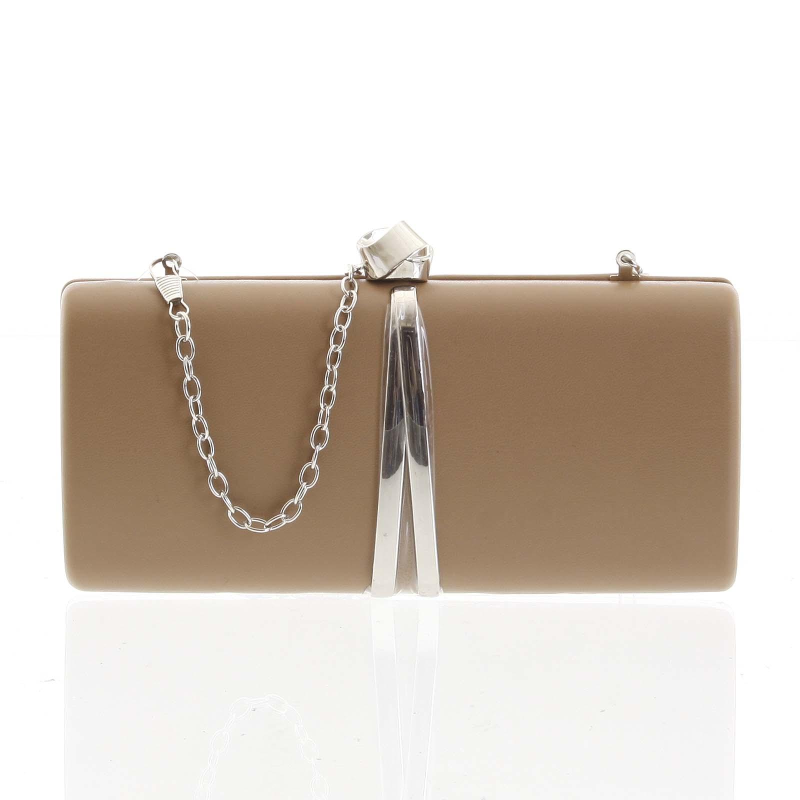 Exkluzívna malá dámska listová kabelka khaki - Delami ZL2097