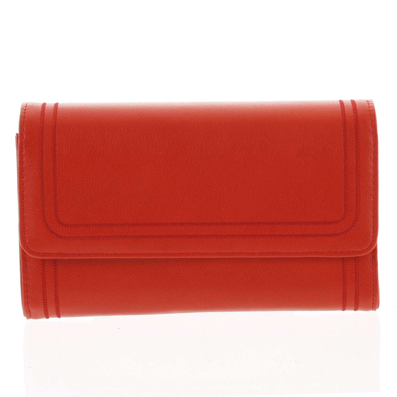 Dámska kabelka cez plece červená - Michelle Moon Downz