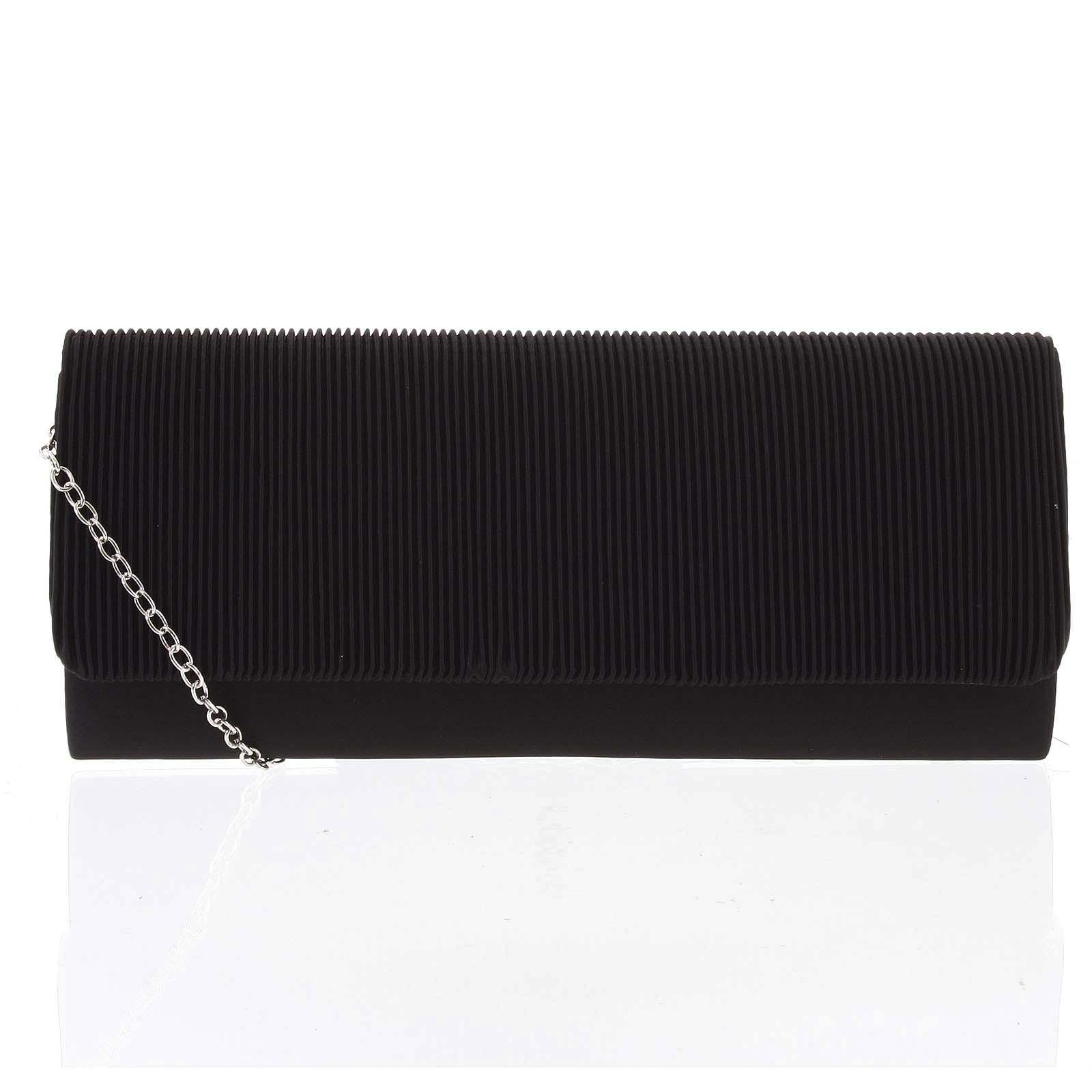Dámska listová kabelka čierna - Michelle Moon Loide