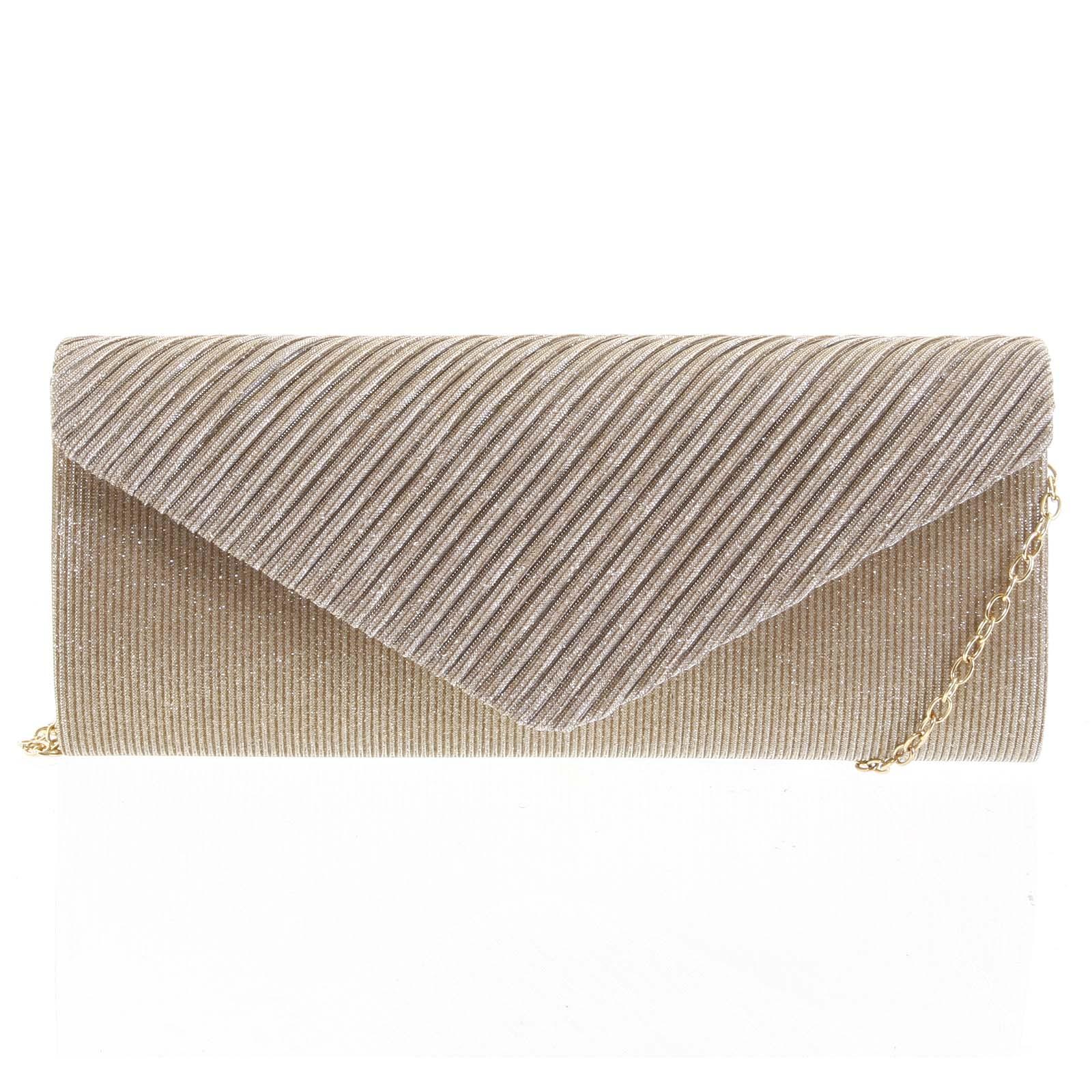 Dámská listová kabelka bronzová - Michelle Moon Deer