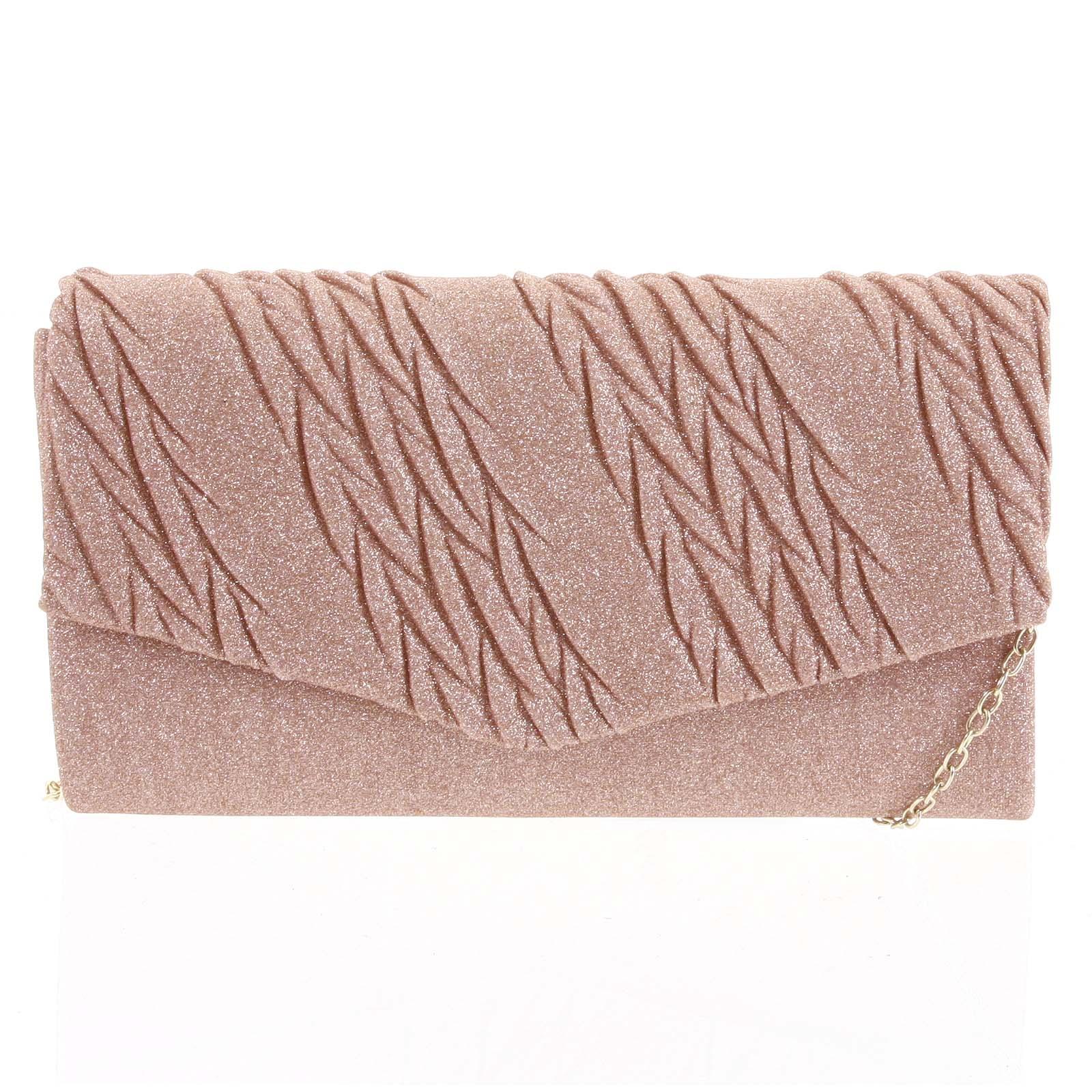 Dámska listová kabelka ružová - Michelle Moon Chael