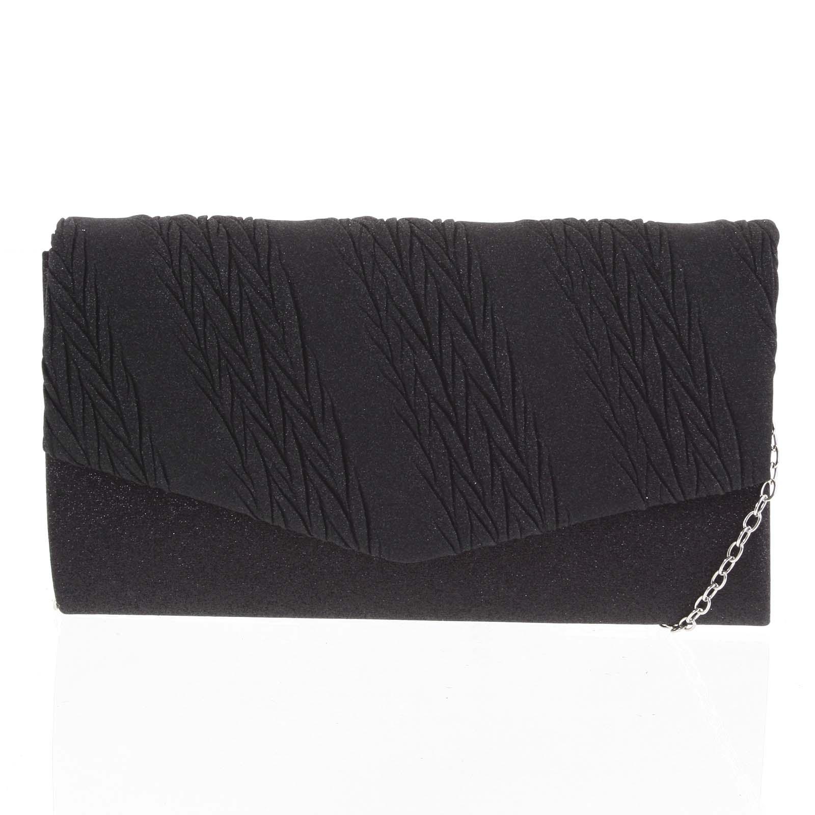 Dámska listová kabelka čierna - Michelle Moon Chael