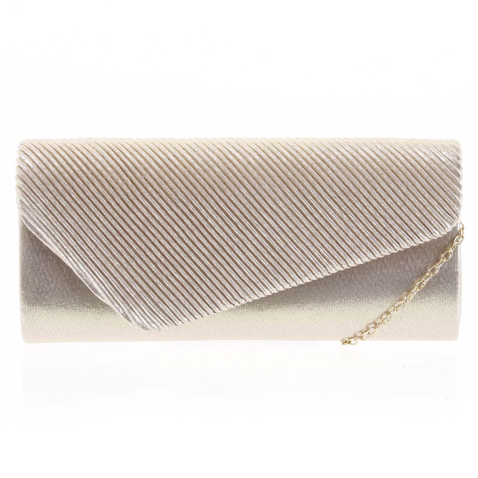 Dámska listová kabelka zlatá - Michelle Moon Ediol