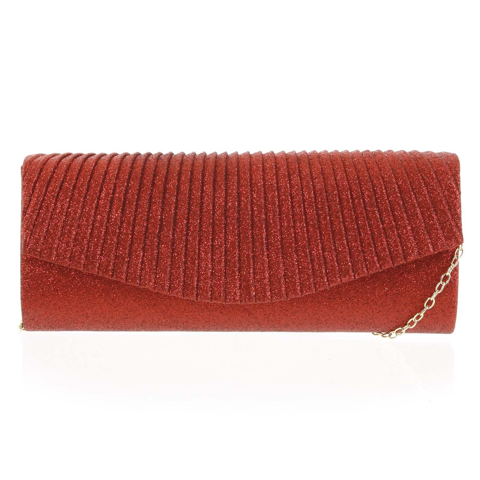Dámska listová kabelka červená - Michelle Moon Prosper