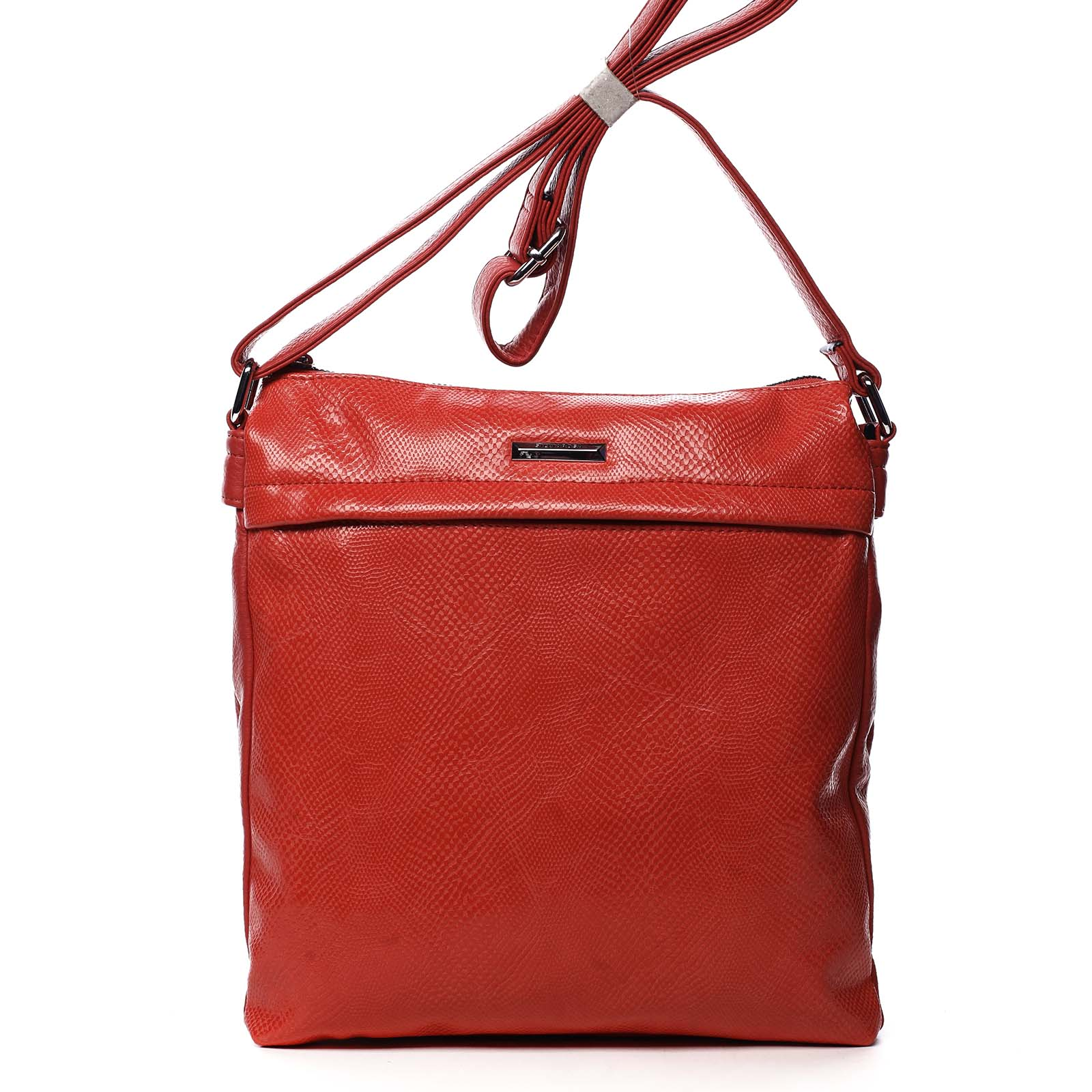 Dámska crossbody kabelky červená - Silvia Rosa Dingeka Snake