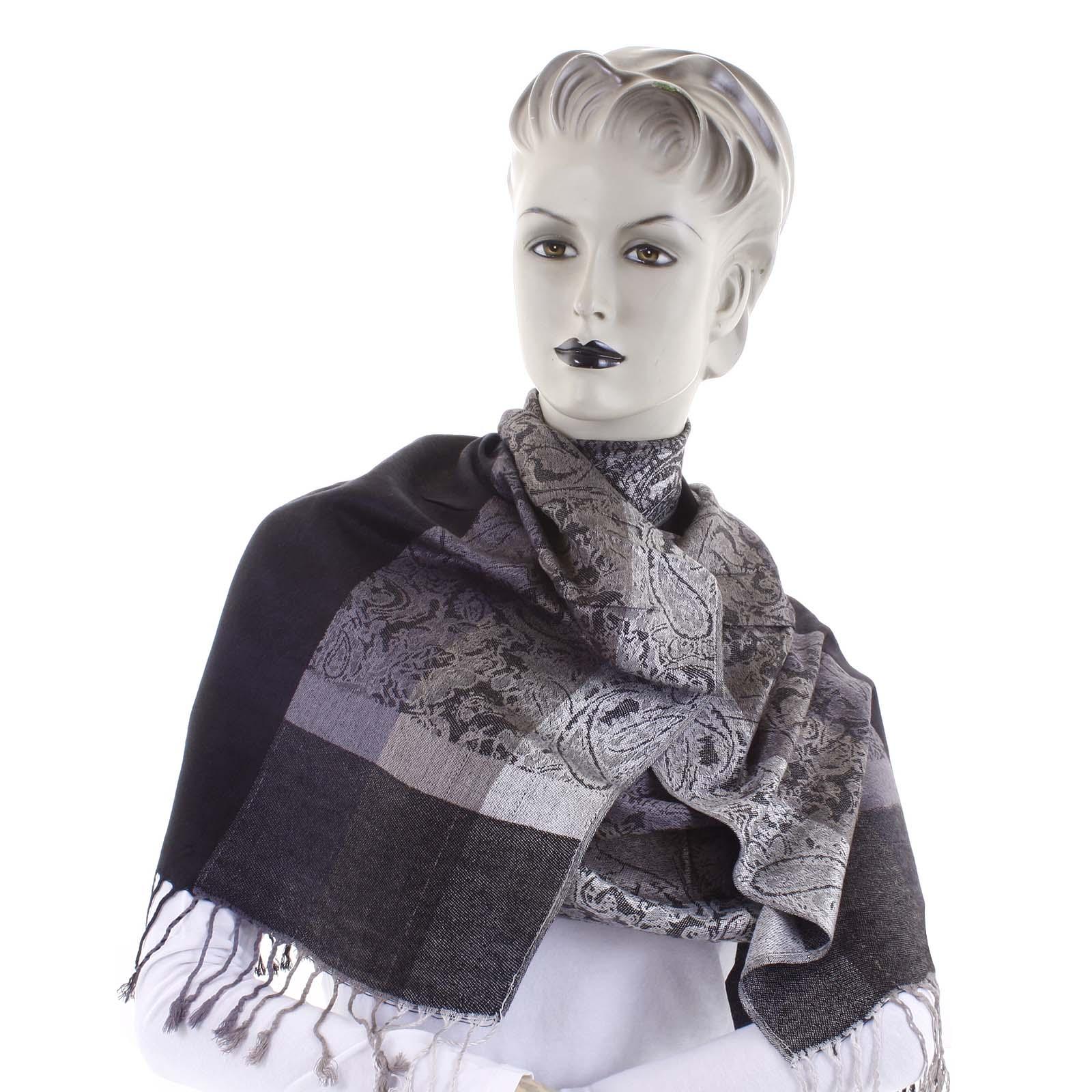 Dámska kašmírová šál čierna - CASH Bonnie