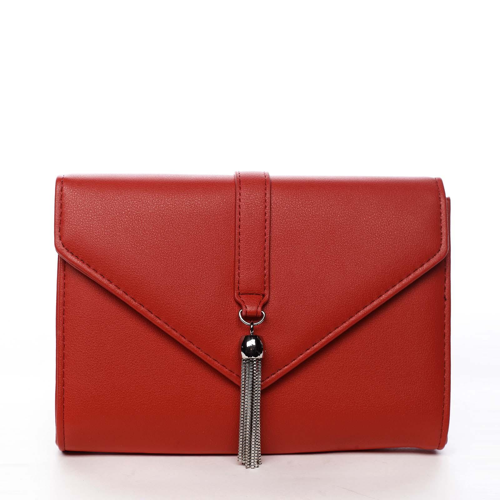 Dámska listová kabelka červená - Michelle Moon F850