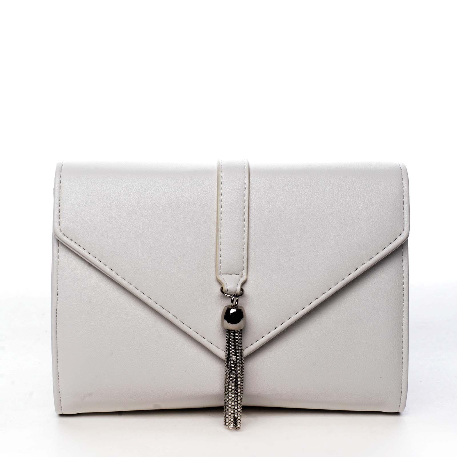 Dámska listová kabelka bielá - Michelle Moon F850