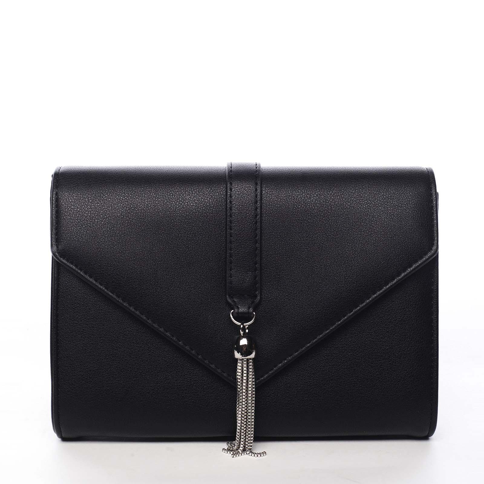 Dámska listová kabelka čierna - Michelle Moon F850