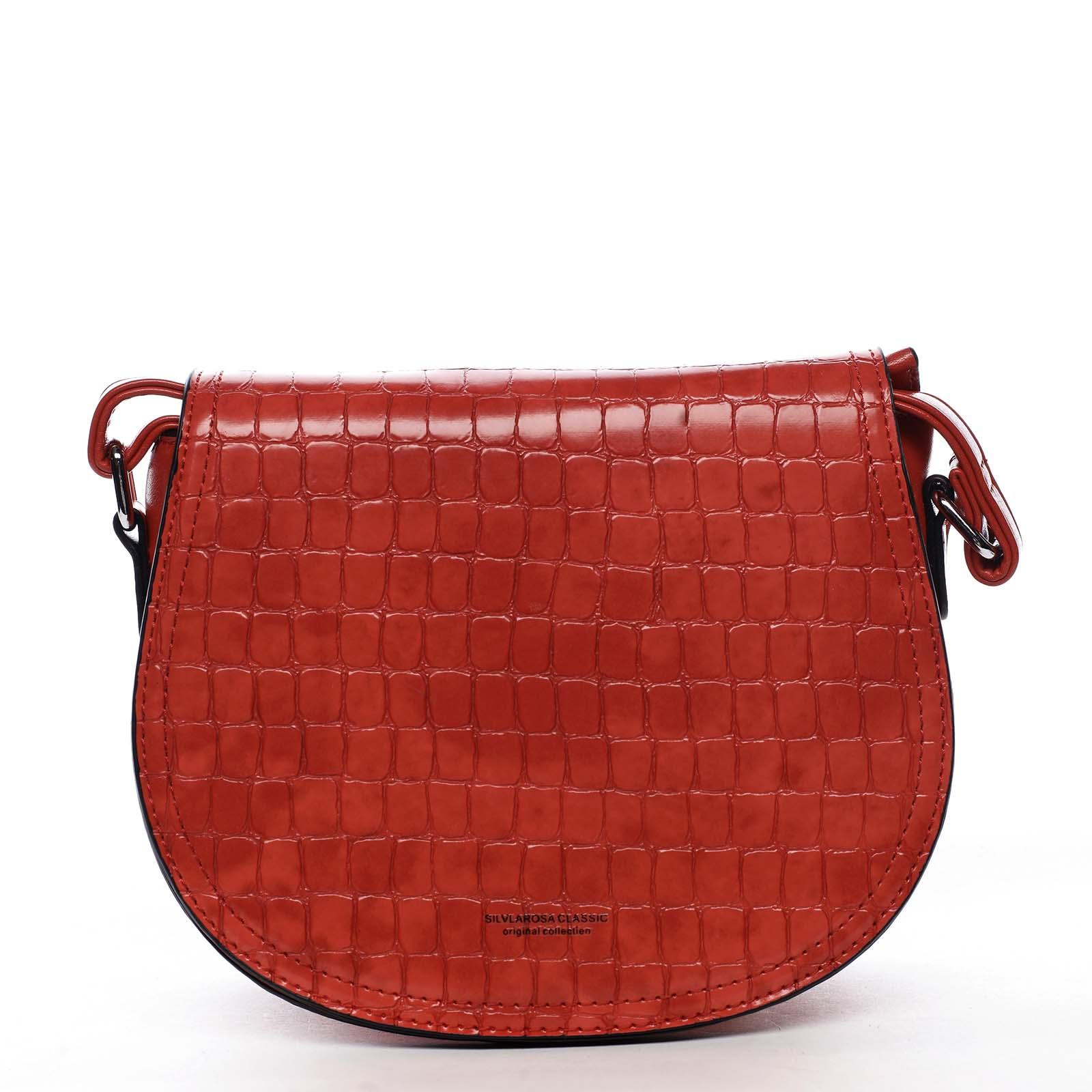 Dámska crossbody kabelka červená - Silvia Rosa Cheer