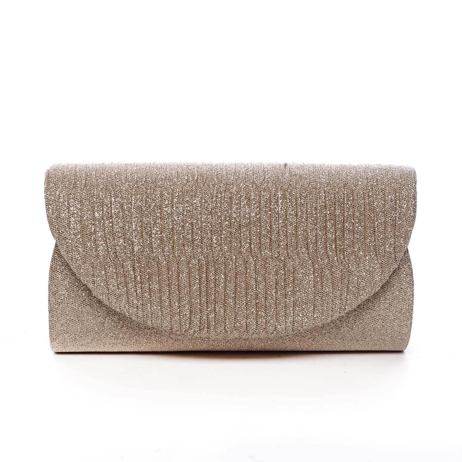 Dámska listová kabelka zlatá - Michelle Moon Elan