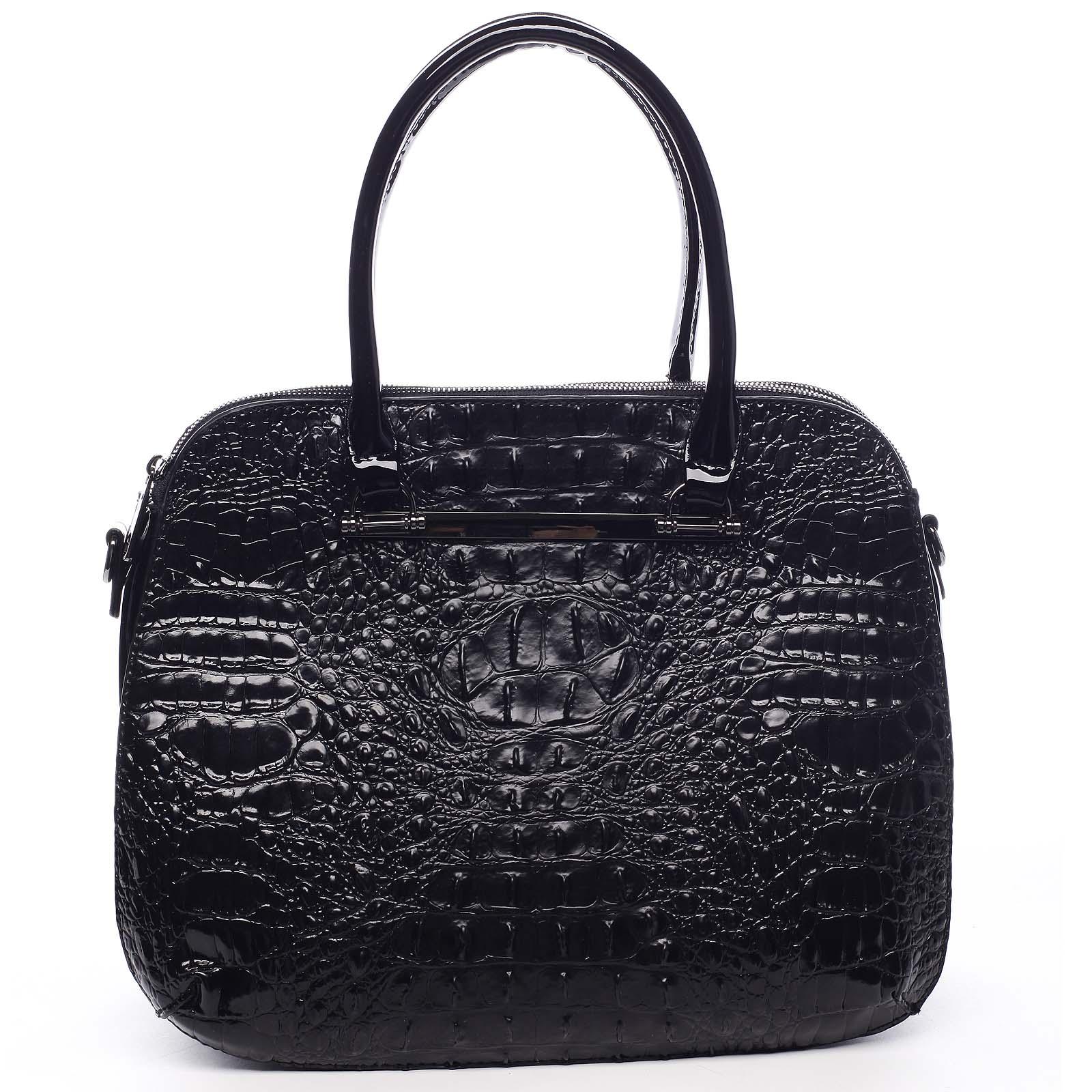 Dámska kabelka do ruky čierna - Dudlin Lexi